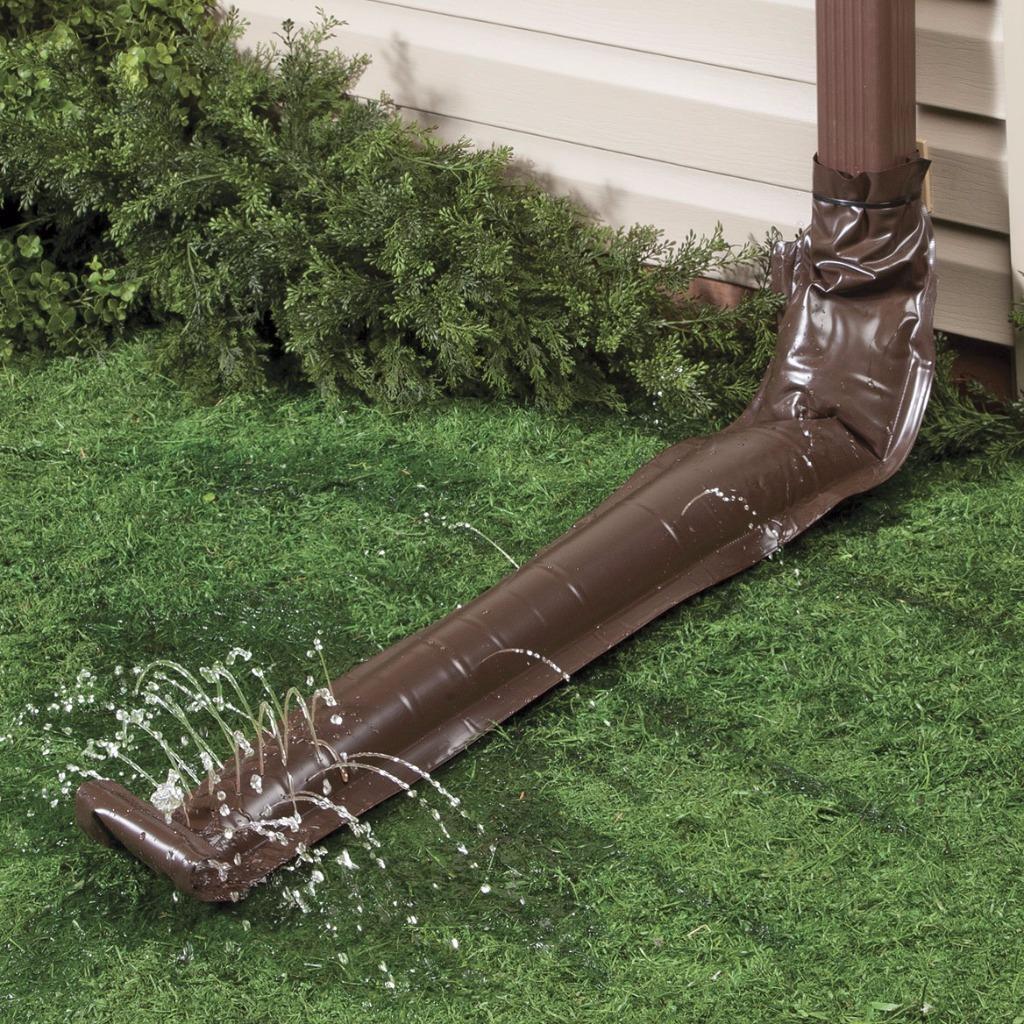 46 Quot Long Universal Rain Drain Extension Gutter Downspout