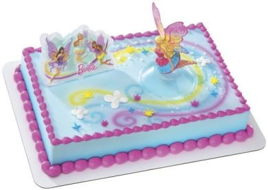 NEW Barbie Fairy Secret Wings Cake KIT Topper Cake ...