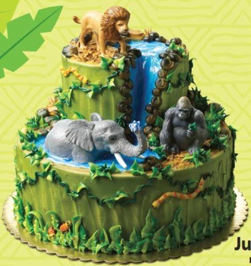 Jungle Animals Cake Decorating Kit : NEW Jungle Buddies Jungle Safari Jungle Cake Decorating ...