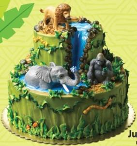 Jungle Cake Decorations : NEW Jungle Buddies Jungle Safari Jungle Cake Decorating ...