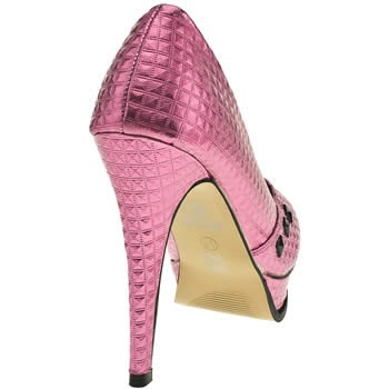 Iron-Fist-Pink-Studded-Number-of-Beast-High-Heel-Party-Court-Shoe-Platforms-Rock