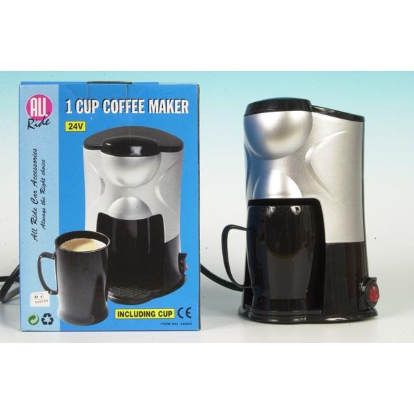 12 VOLT CAR ONE CUP COFFEE MAKER INCLUDE CUP BNIB eBay