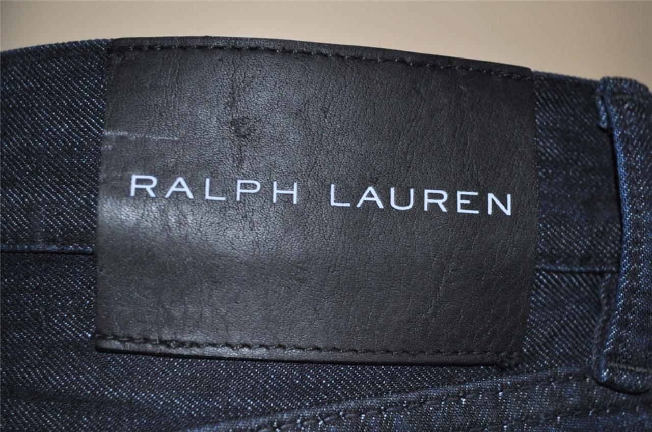 NEW RALPH LAUREN BLACK LABEL MONZA INDIGO DENIM PREMIUM