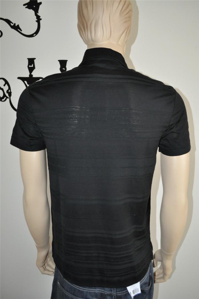 New 265 ralph lauren black label black premium polo shirt for Ralph lauren black label polo shirt