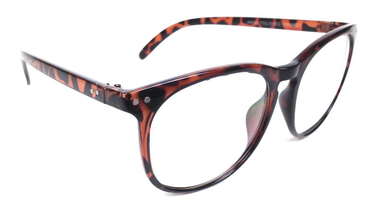Glasses Frames Big W : 60 039 s Retro Style Clear Lens Women 039 s Men 039 s ...