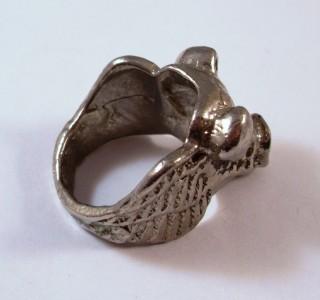 great vintage hog biker pig w wings harley jewelry ring ebay