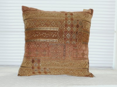 Brown Corduroy Throw Pillow : ONE DECORATIVE Silk Corduroy THROW PILLOW COVERS Salmon Green Brown 19 Square eBay
