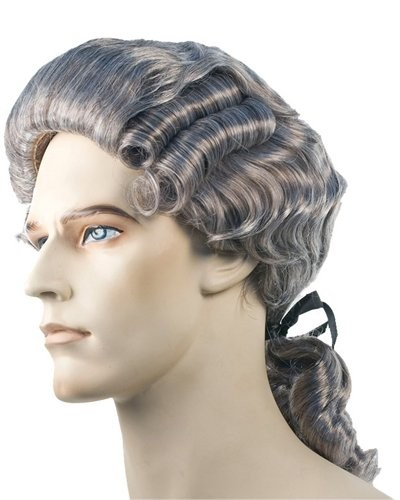 Mens Powdered Wigs For Sale 100