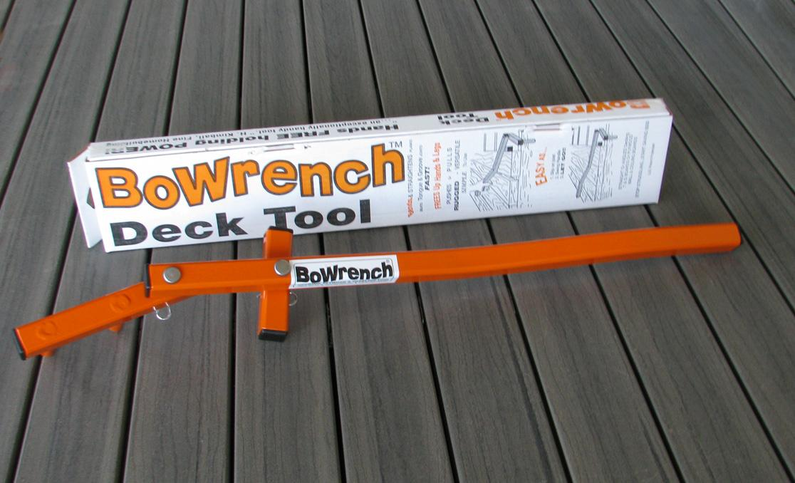 Bowrench Deck Tool ~ Bowrench deck tool straigthen and hold timber perth wa ebay