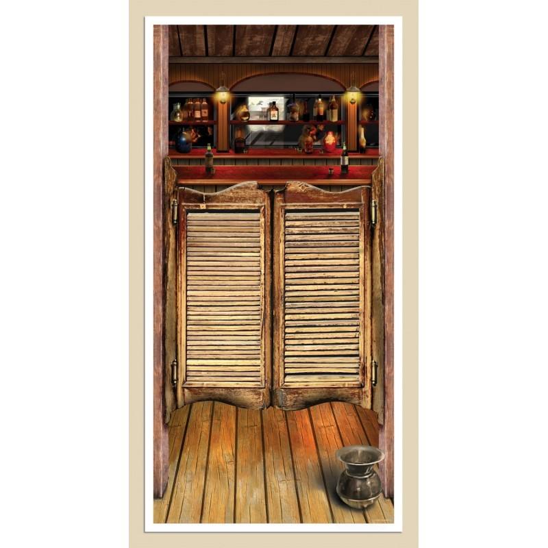 Wild-West-5-039-Door-Cover-Cowboy-Decoration-