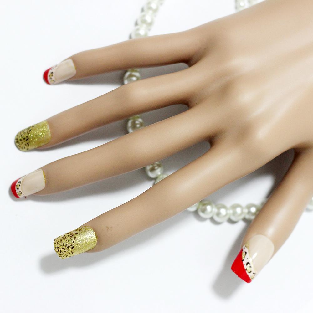 3d christmas fashion diy decorative false nails art full for Decorative nails