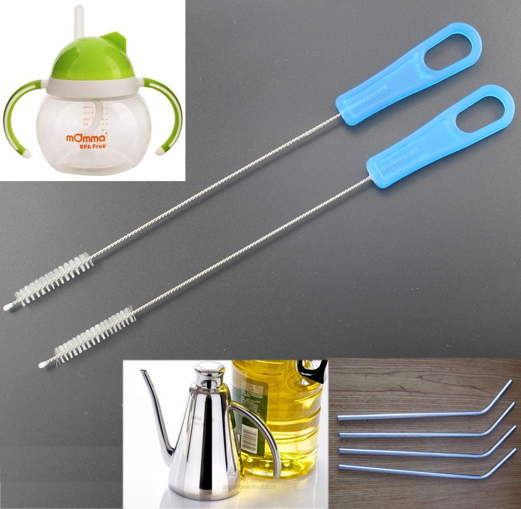 straw cleaner cleaning brush for drinking straws
