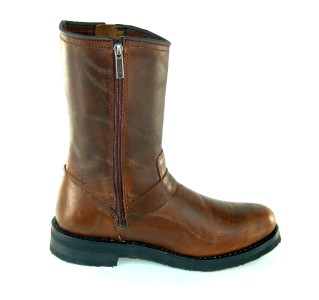 Harley Davidson Kent Men s Motorcycle Boots Brown D91327 Size 7 5