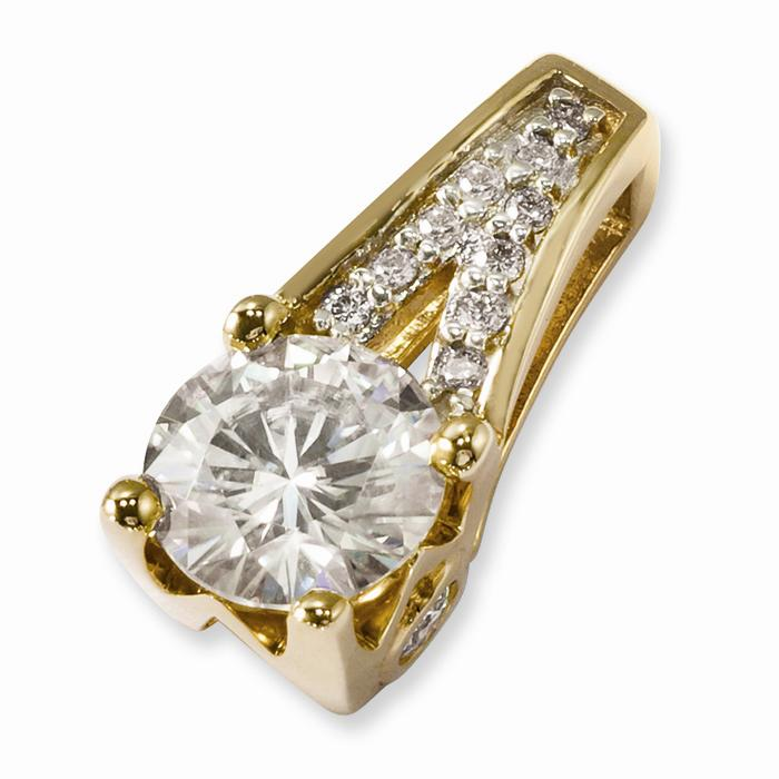 1 06 ctw brilliant moissanite and charles