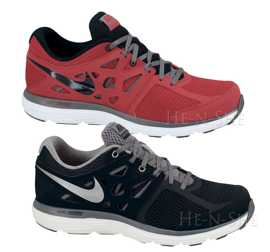 nike dual fusion lite men 39 s cross training running shoes 599513 002 599513 600 ebay. Black Bedroom Furniture Sets. Home Design Ideas