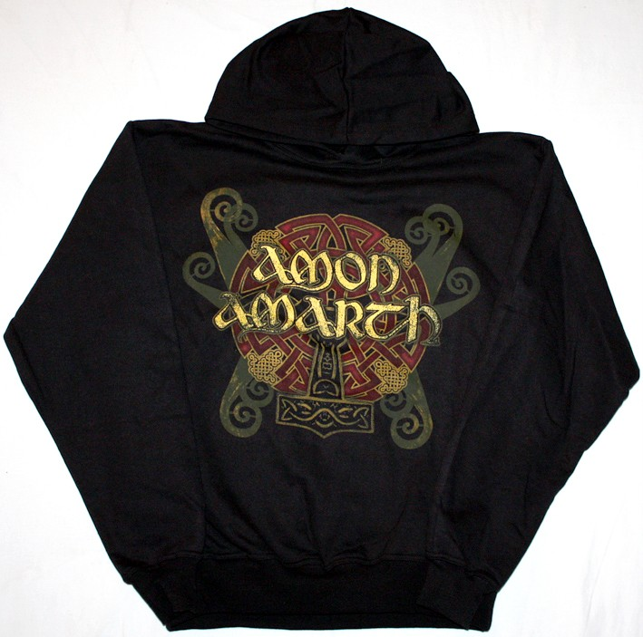 AMON-AMARTH-PURE-VIKING-DEATH-METAL-TURISAS-S-XXL-HOODIE-NEW-BLACK-SWEATSHIRT
