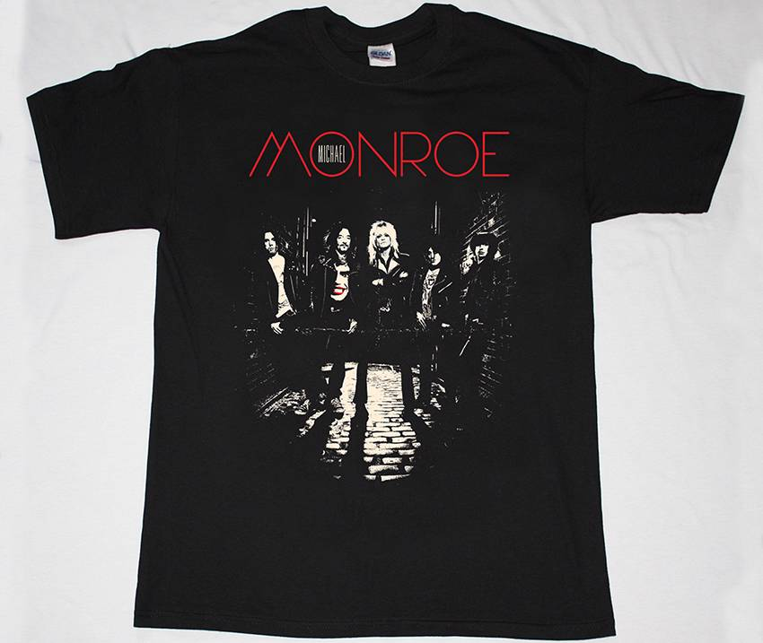 MICHAEL-MONROE-HARD-ROCK-GLAM-METAL-HANOI-ROCKS-DEMOLITION-23-NEW-BLACK-T-SHIRT