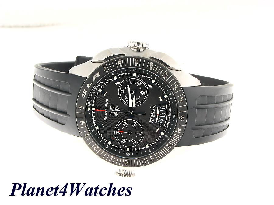 Tag heuer mercedes benz slr calibre 17 automatic mens for Mercedes benz watches ebay