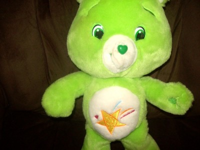 "Adorable 15"" Plush Oopsy Bear Care Bear Care Bears Plush 2007 VGC"