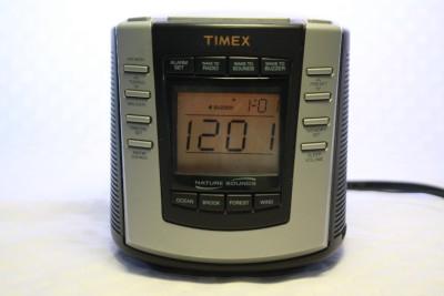timex nature sounds t300b digital tuning am fm alarm clock radio soothing ocean ebay. Black Bedroom Furniture Sets. Home Design Ideas
