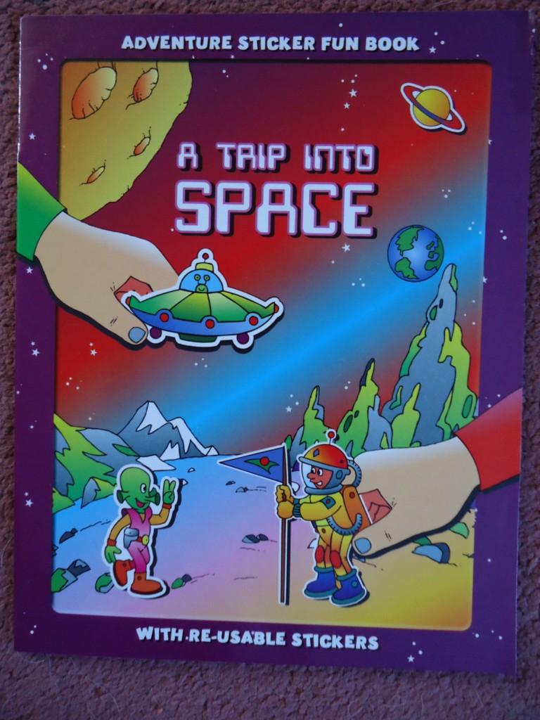 ADVENTURE-STICKER-FUN-BOOK-4-EXCITING-TITLES-SPACE-PIRATES-CIRCUS-SAFARI