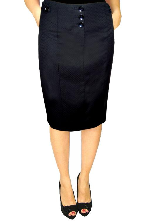 next high waisted pencil skirt black size 8 16 bnwot ebay
