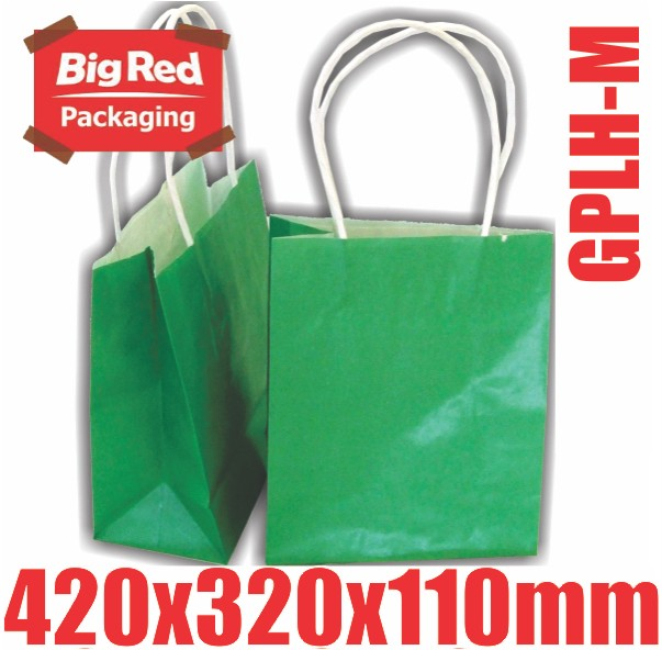 250-x-Green-Paper-Gift-Shopping-Bag-with-Twist-Rope-Handle-420x320x110mm-BULK