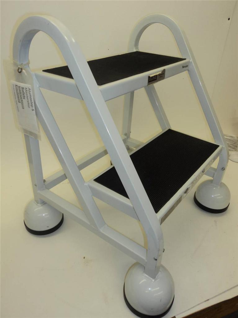 Uline Cotterman 450 Lbs 2 Step Steel Step Ladder