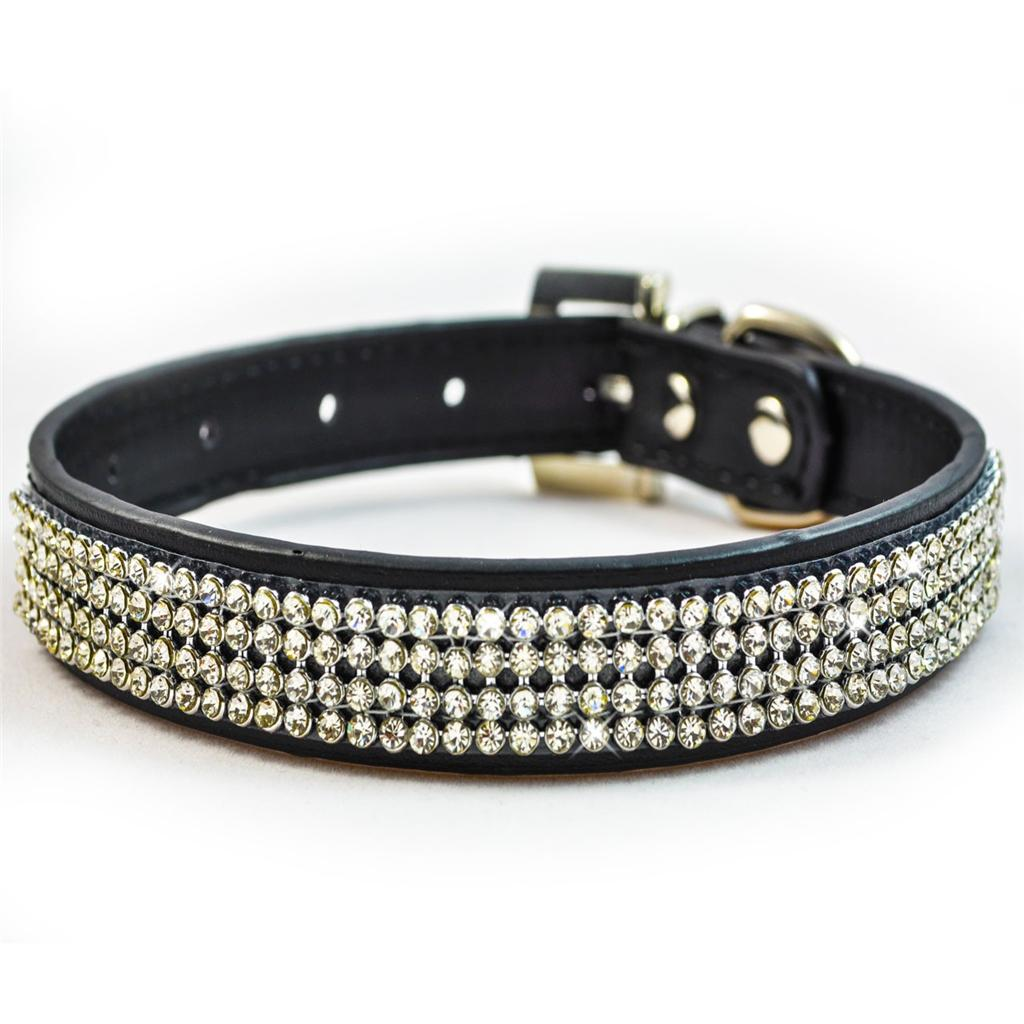 Diamante Dog Collars Uk