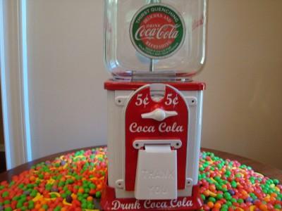 coca cola personal vending machine