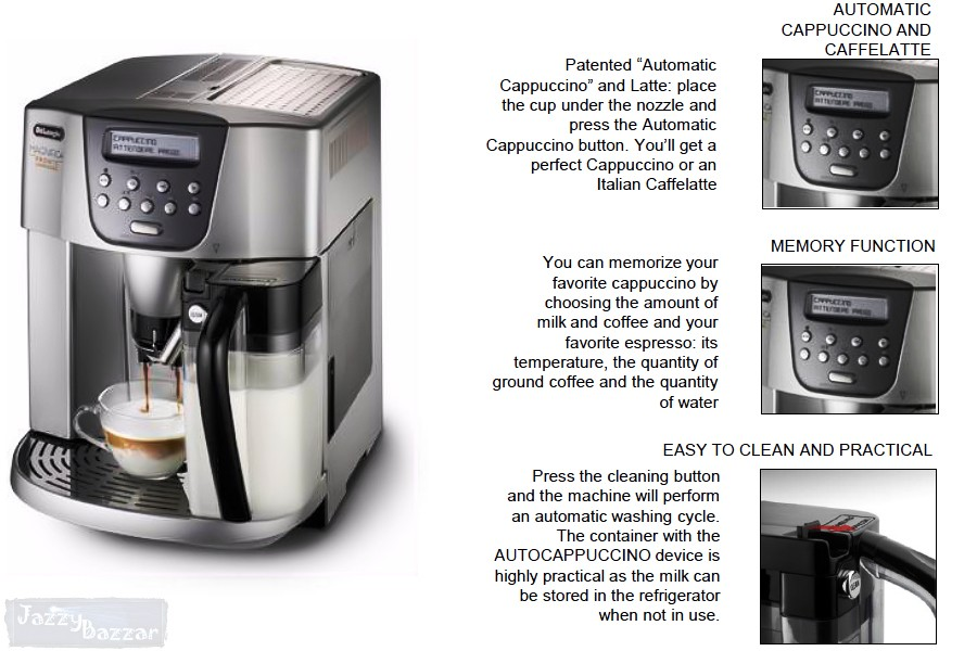 Coffee Makers In New Zealand : Delonghi ESAM4500 Fully Automatic Espresso Coffee Maker Machine & Grinder NEW eBay