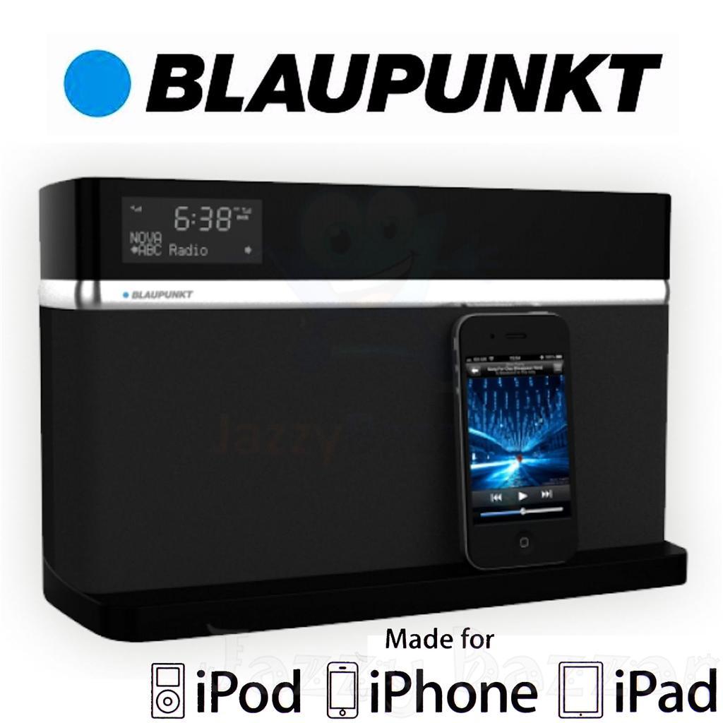 blaupunkt oslo idock dab digital radio ipad ipod iphone. Black Bedroom Furniture Sets. Home Design Ideas