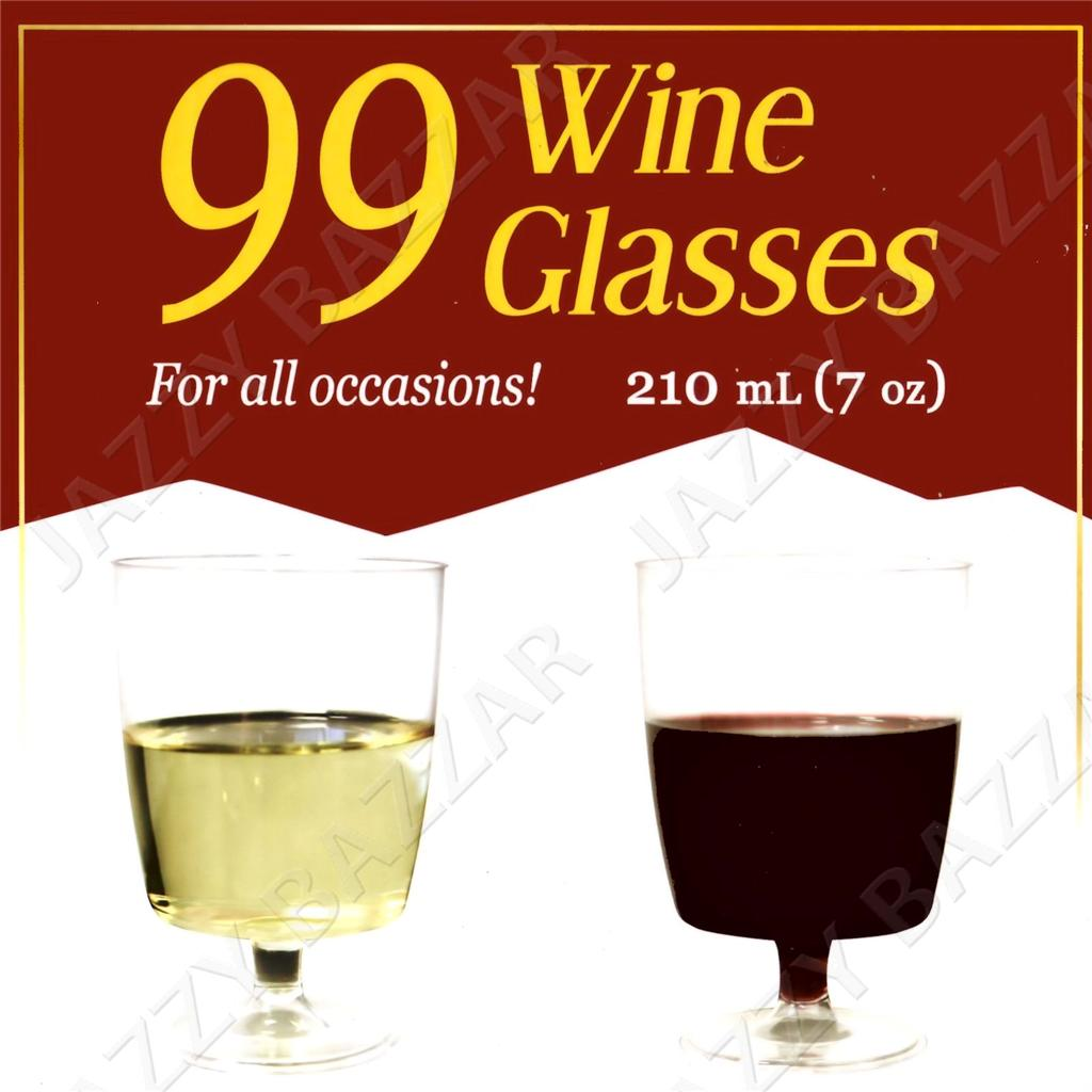 Ml Disposable Wine Glass