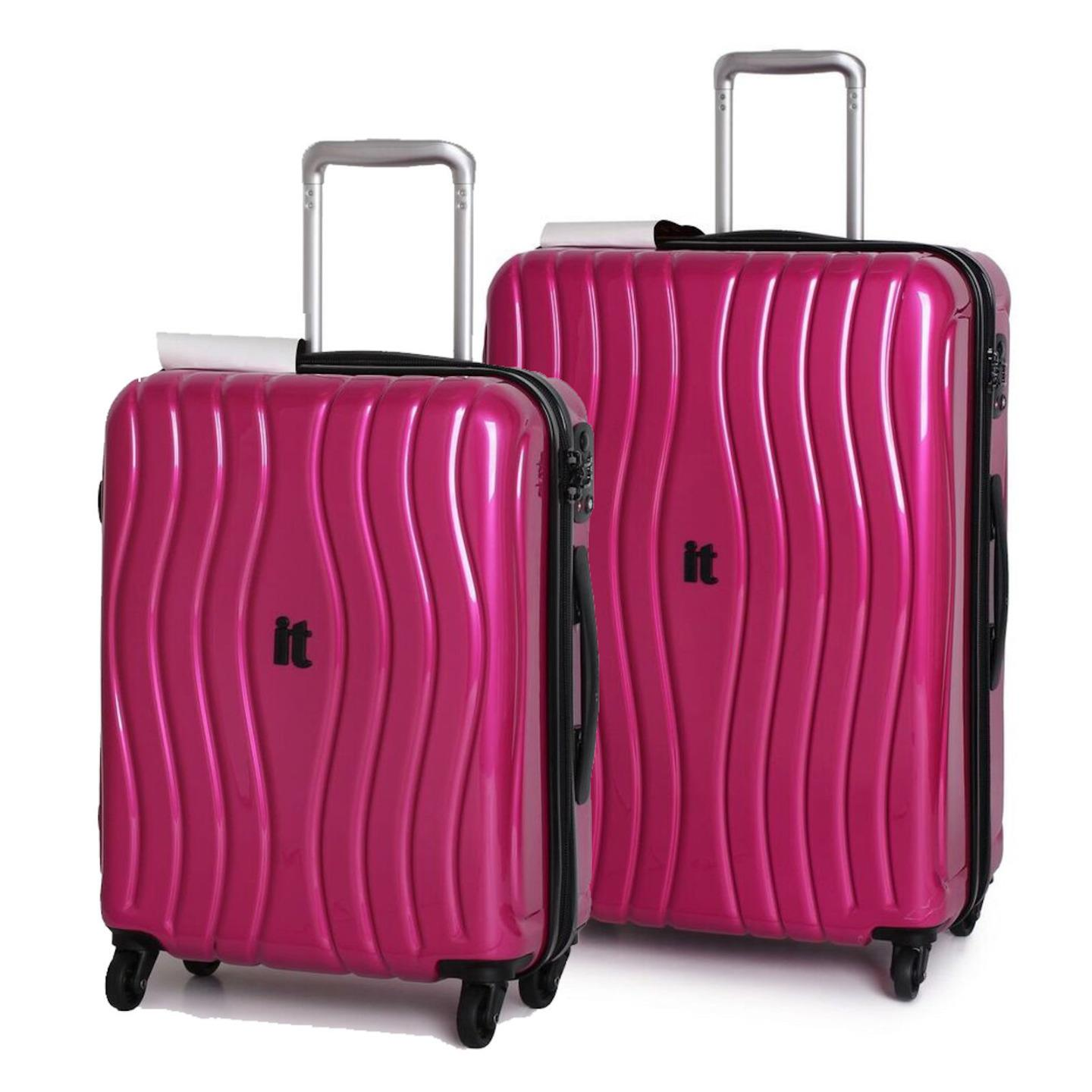 it luggage doppler hard shell suitcase 2pc trolley case. Black Bedroom Furniture Sets. Home Design Ideas