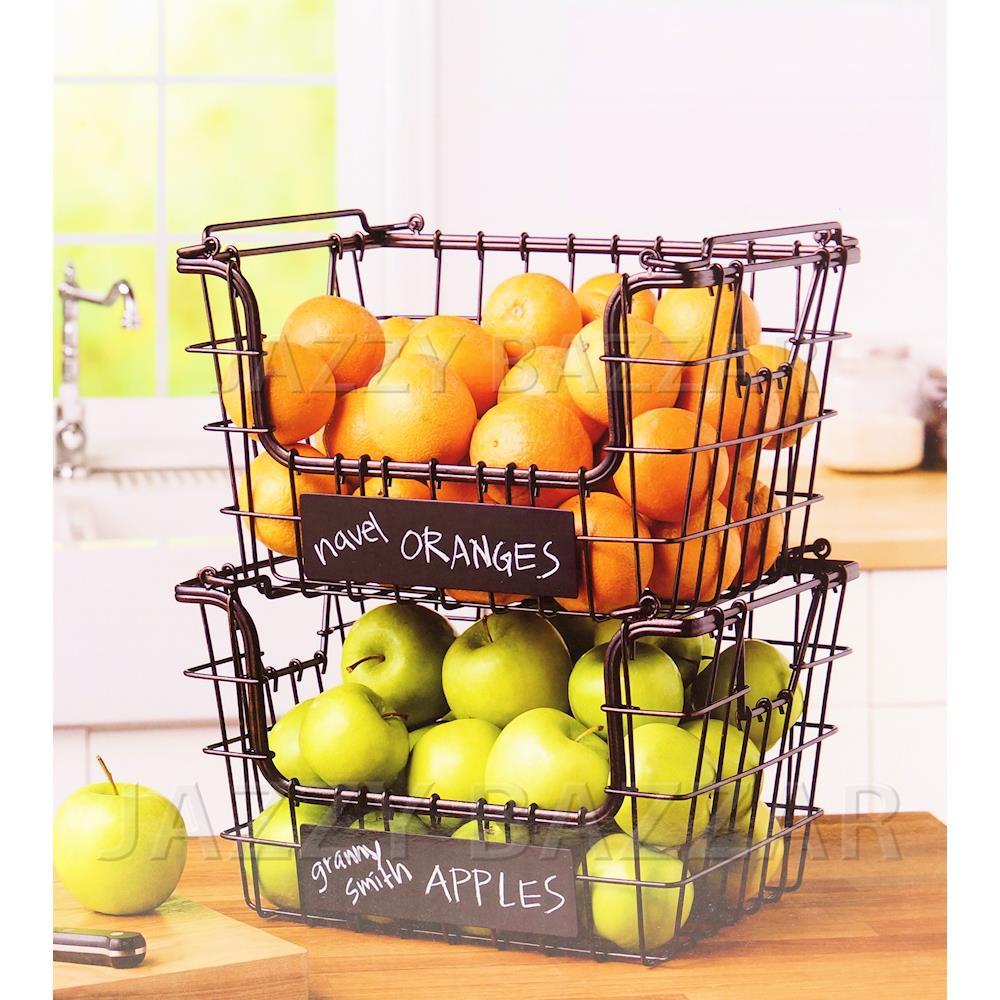 Kitchen Vegetable Storage Baskets