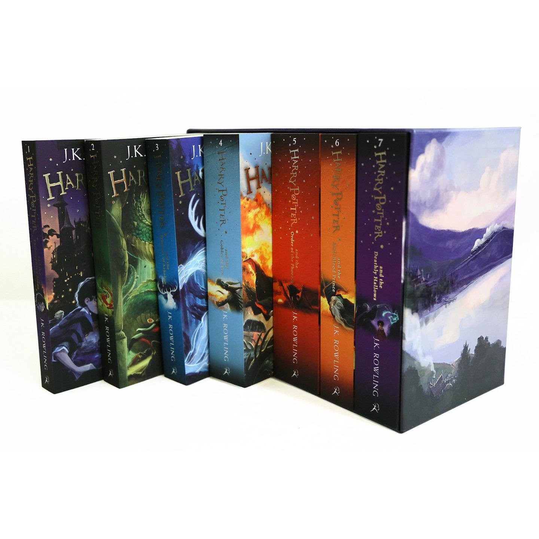 Harry Potter Book Box Set Australia : Harry potter the complete collection books set paperback