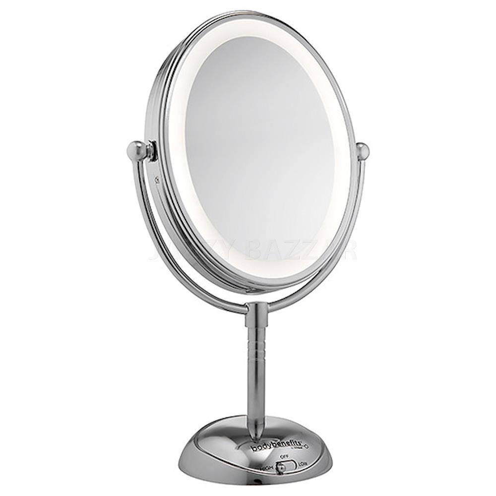 conair cbe51leda led lighted beauty mirror cordless double. Black Bedroom Furniture Sets. Home Design Ideas