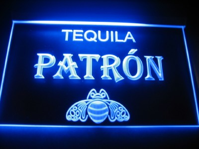 Tequila Patron Logo Beer Bar Pub Store Light Sign Neon #2: tp