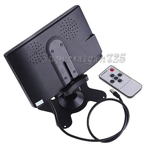 "7"" LCD Car Headrest Monitor Car Backup Camera System"
