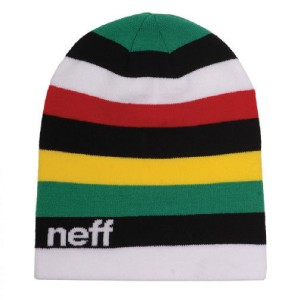 48fe2df6b88 Neff Rainbow Beanie Rasta Recorded Delivery on PopScreen