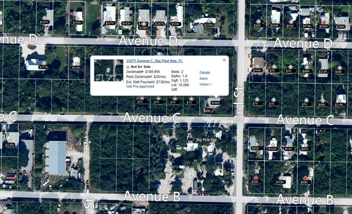 Property Values Big Pine Key