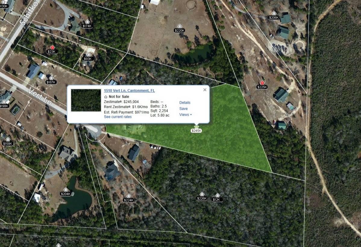 Escambia County Property Lines