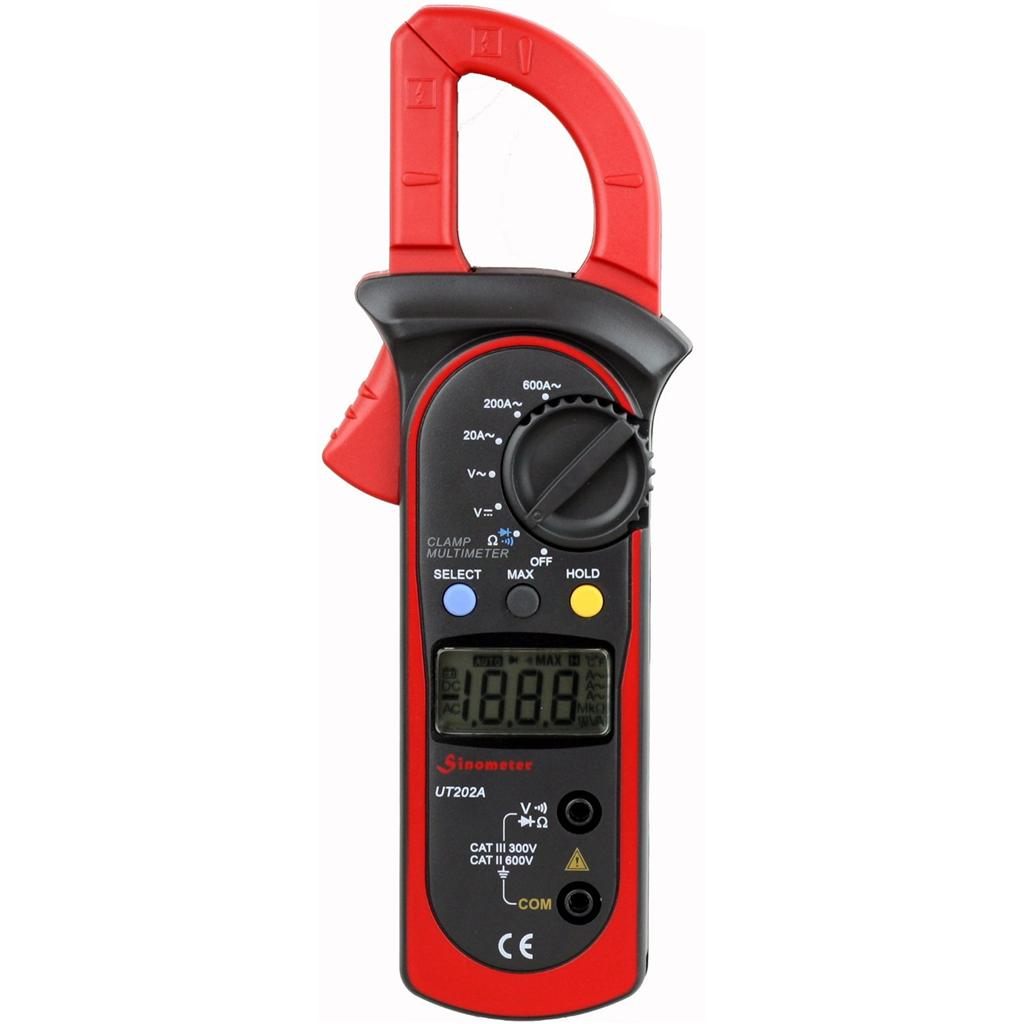 Sinometer UT202A AC 600 Amp Clamp Meter Multimeter at Sears.com