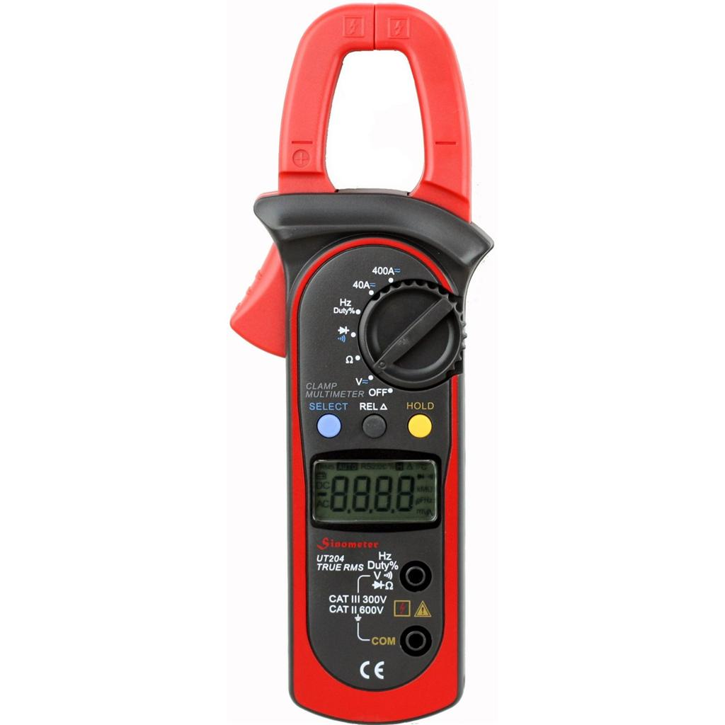 Sinometer UT204 True-RMS Auto-ranging AC/DC 400 Amp Clamp Meter at Sears.com