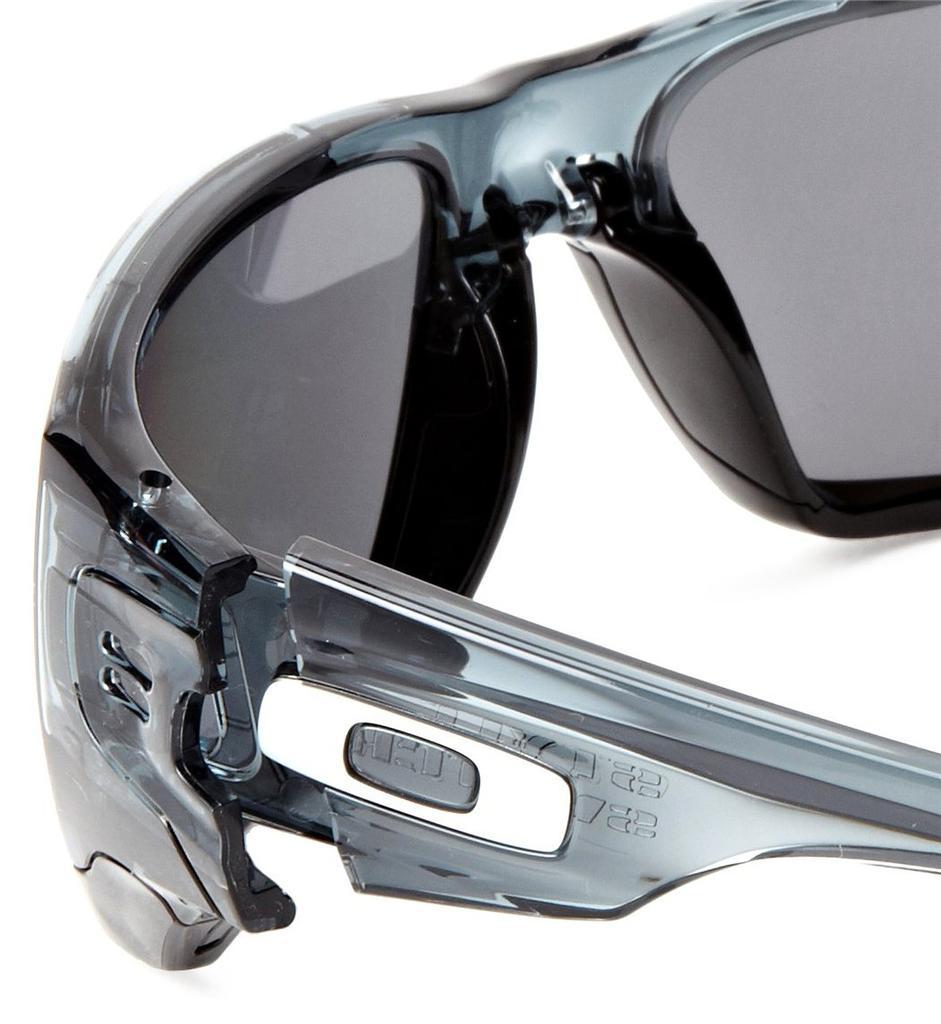 oakley flak jacket black iridium polarized lenses  withblack iridium polarized