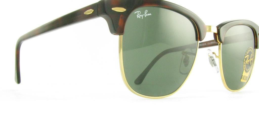 rb3016 wo366  NEW RAY BAN RB3016 CLUBMASTER WO366 SUNGLASSES GENUINE AUTHENTIC ...