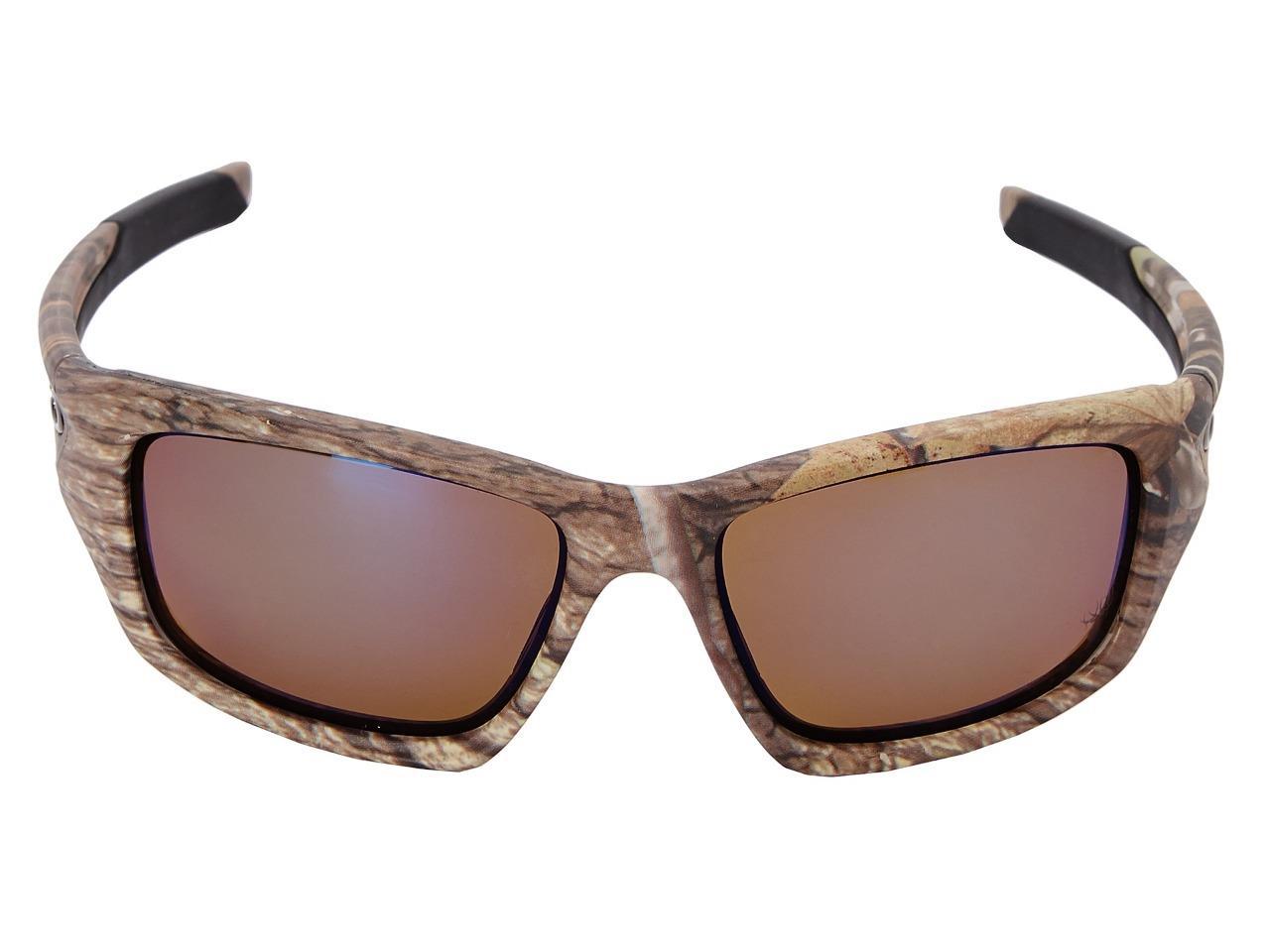 New 2016 oakley valve sunglasses kings camo polarized for Oakley polarized fishing sunglasses