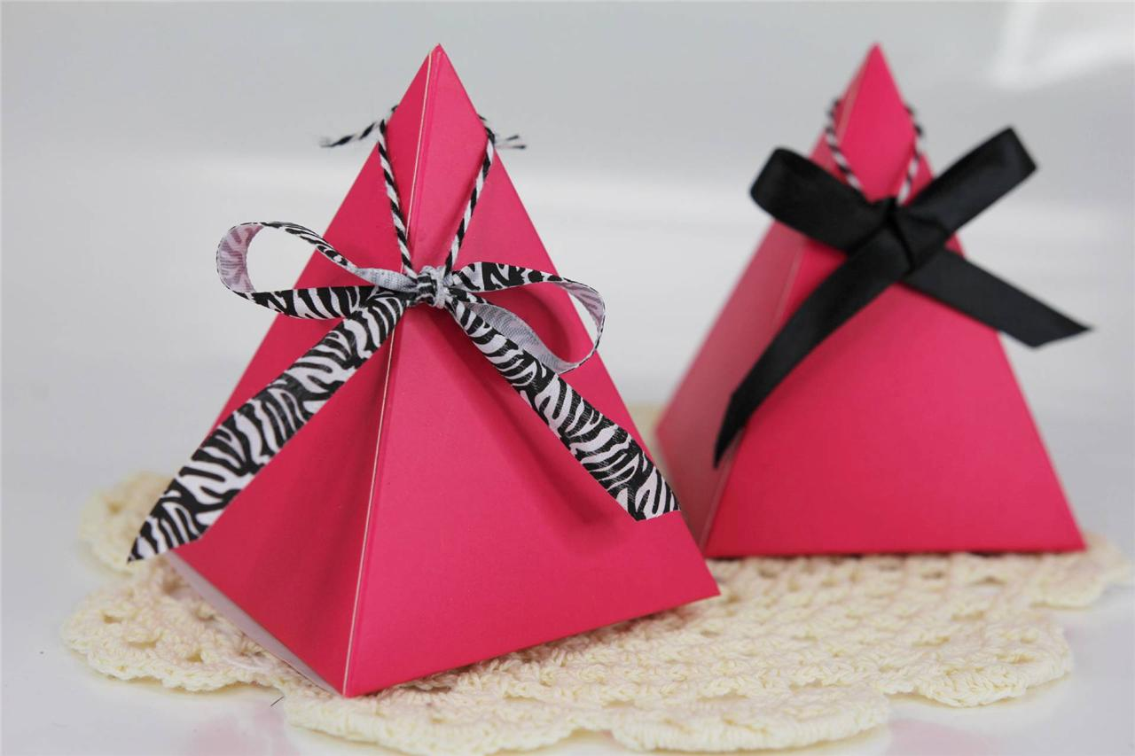 Wedding Gift Box Wrapping : ... Favor Boxes, Wedding Baby Shower Party Treat Candy Gift Wrap eBay