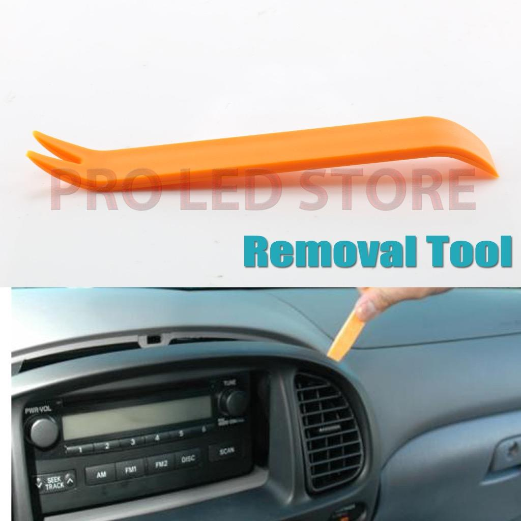 2 universal panel removal tools car dash door radio trim interior panel molding ebay. Black Bedroom Furniture Sets. Home Design Ideas