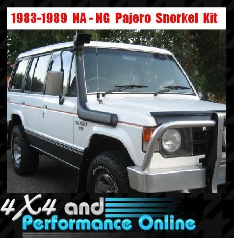 Snorkel-Intake-Kit-Suit-Mitsubishi-Pajero-NA-NG-1983-1989-4x4-4WD-3Yr-Wty